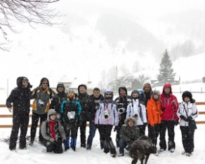 Şirnea: un workshop cu zăpadă de la nea' Grigore