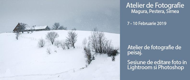 Workshop foto la Magura, Sirnea si Pestera 7-10 Februarie 2019