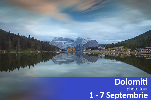 Photo tour in Dolomiti | 1-7 Septembrie