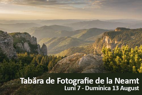 Tabara de fotografie de la Neamt