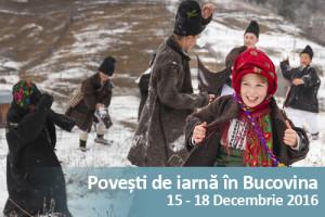 Povești de iarnă în Bucovina