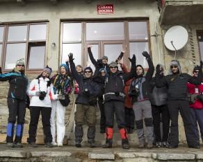 Workshopul din zona Ceahlau – Izvorul Muntelui din februarie 2014