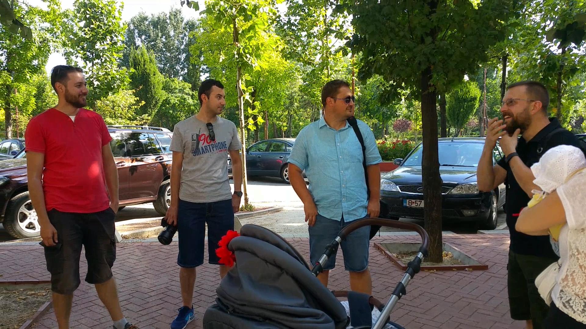 Cum a fost la meetup in Bucuresti si discutii pe fotografiile facute
